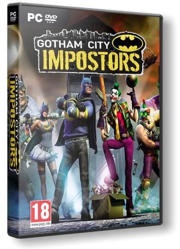 Gotham City Impostors (2012, Action, Online-only)