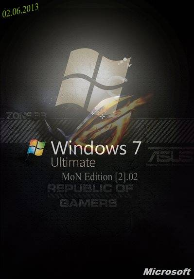 Windows 7 Ultimate MoN Edition