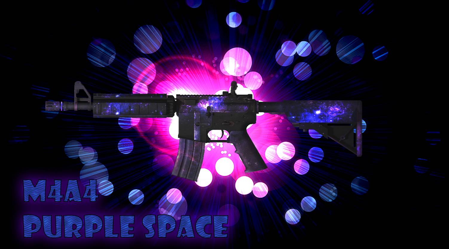 M4A4| Purple Space