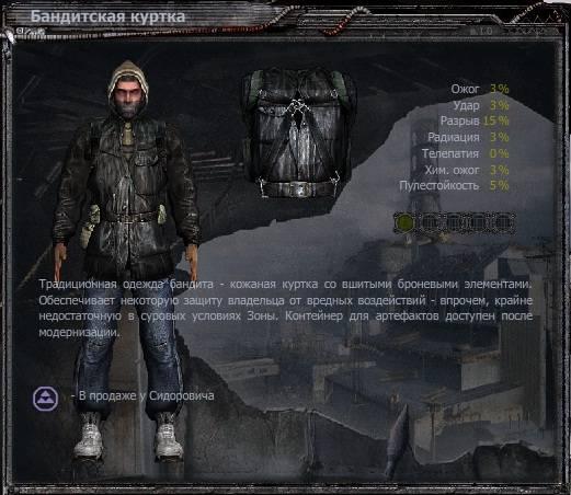 Сталкер Чистое Небо Костюмы
