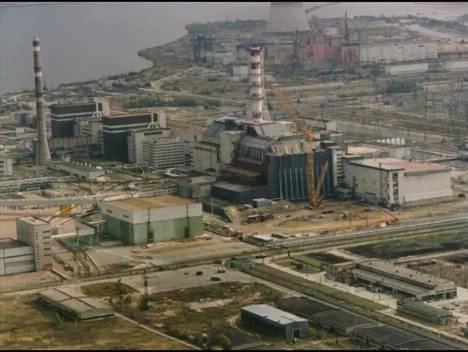 Взрыв на Чернобыльской станции