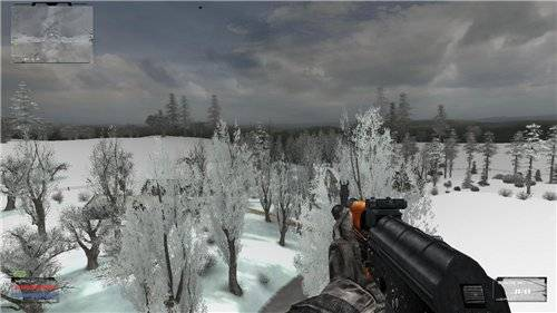STALKER Winter edition для Тень Чернобыля
