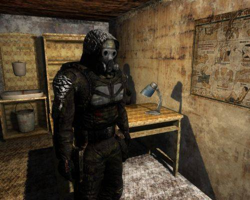 "S.T.A.L.K.E.R.: Зов Припяти ""END WAR MOD ( Winter ) 2010"""