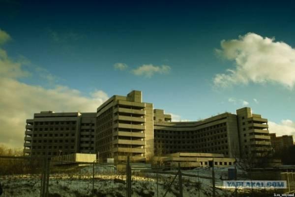 Ховринская заброшенная больница как попасть